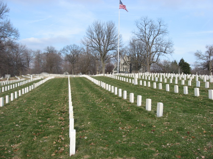 9. Indiana is home to one the largest cemeteries in the United States