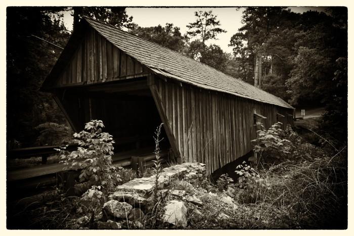10) Concord Covered Bridge spanning the Nickajack Creek - Smyrna