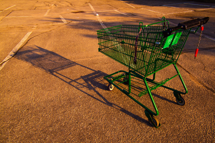 6. When we go shopping, we use a buggy.