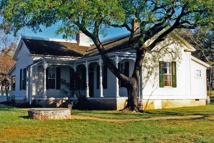 2) Lyndon B. Johnson Boyhood Home (Johnson City)