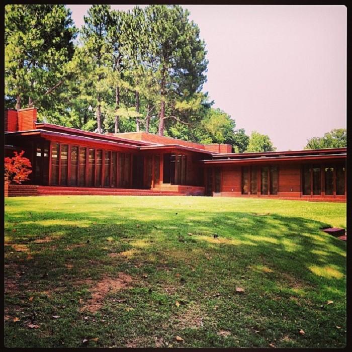 3. Frank Lloyd Wright Rosenbaum House - Florence, AL