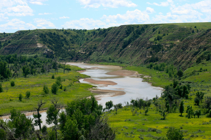 6. Wow! What an amazing view in western North Dakota!