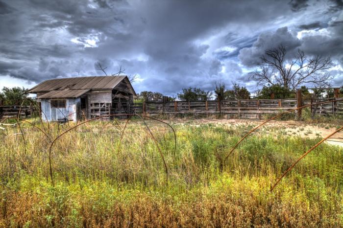 18) Old Barn In Marathon