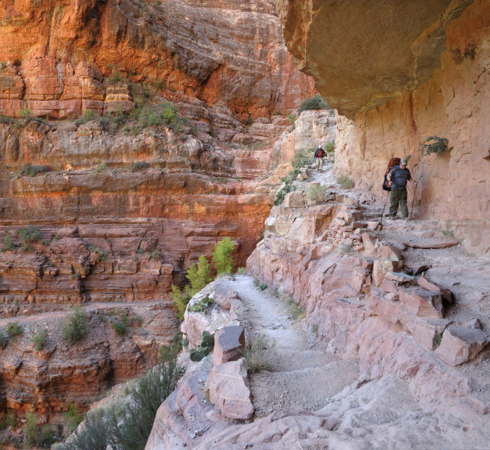 6. North Kaibab Trail, Grand Canyon National Park