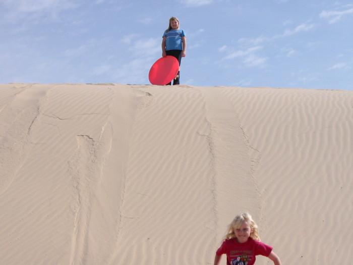 12) Slide up and down sand dunes at Monahans Sandhills State Park!