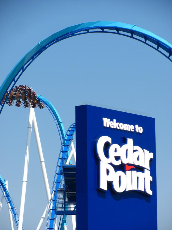 1) Cedar Point and Soak City (Sandusky)