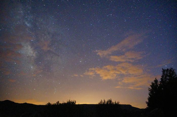 4) Toledo night sky
