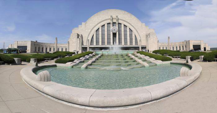 8) Cincinnati Union Terminal
