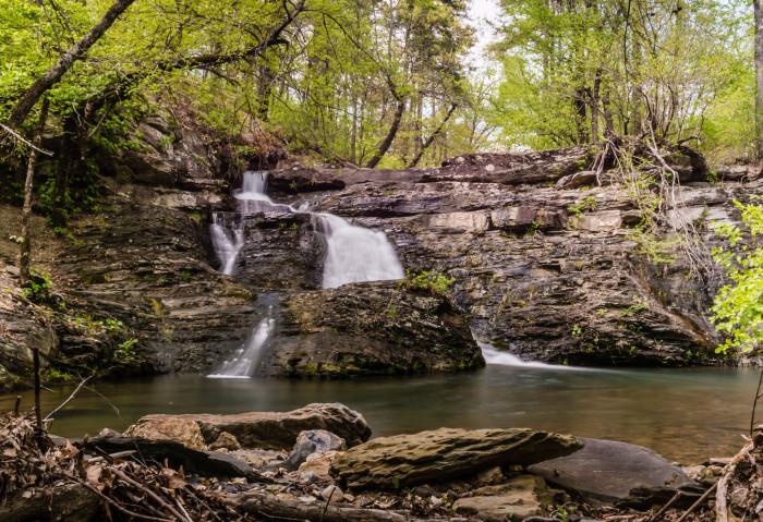 9. Crooked Creek Falls