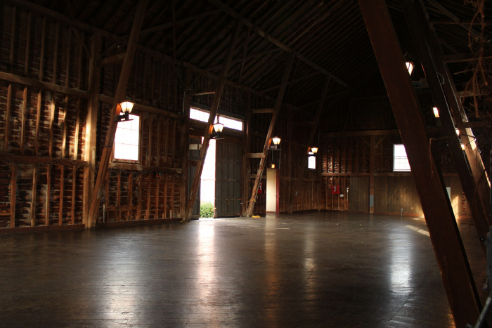 9. Friday night fun was barn dances. And this is probably the first place you slow-danced.