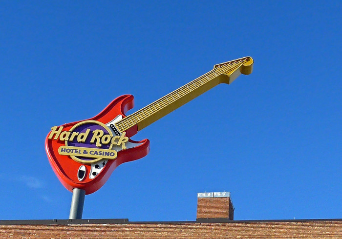 8. Rock out at the Hard Rock Cafe