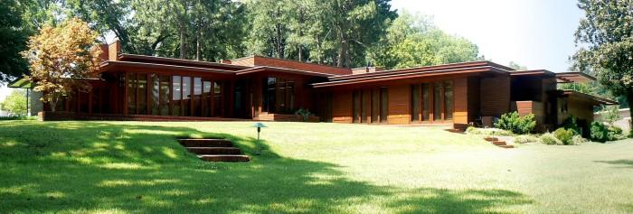 12. Frank Lloyd Wright Rosenbaum House - Florence, AL