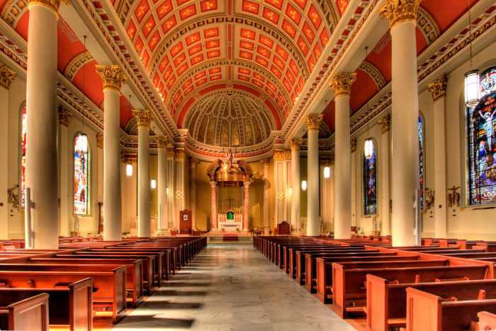 1. Cathedral Basilica of the Immaculate Conception - Mobile, AL