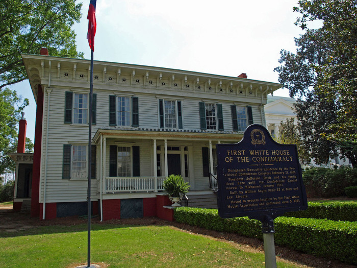 9. First White House of the Confederacy