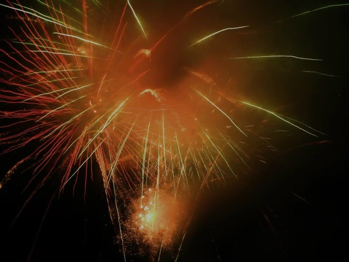 10. Athens Firework Show