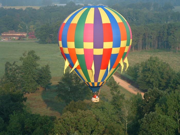 10. Hot Air Balloon Ride