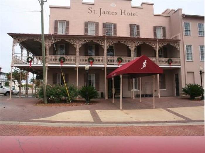 5. St. James Hotel - Selma, Alabama