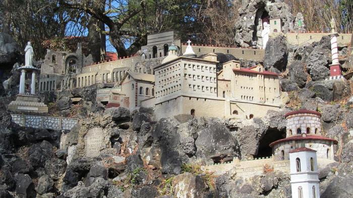 8. Ave Maria Grotto - Cullman, AL