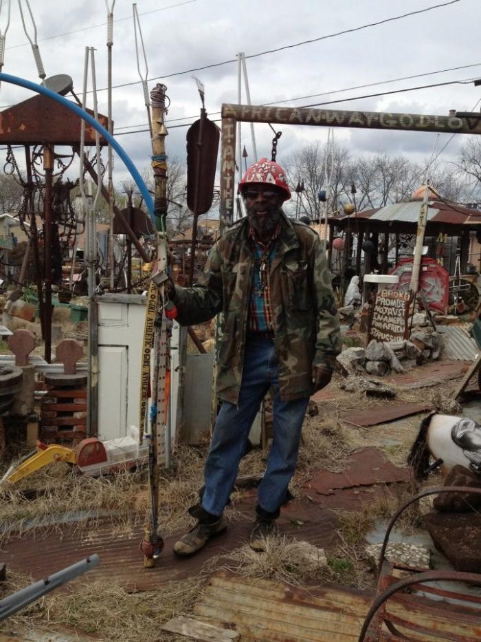10. Joe Minter's African Village in America - Birmingham, AL
