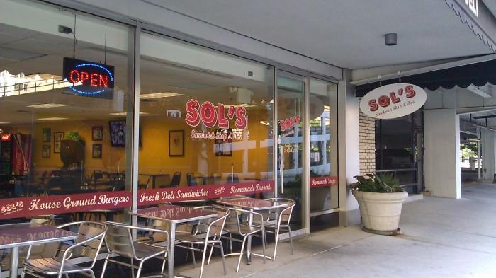 10. Sol's Sandwich Shop & Deli - Birmingham, Alabama