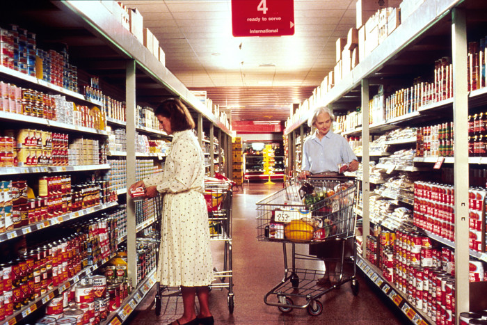 5. You couldn't go to the grocery store without running into several people you knew.