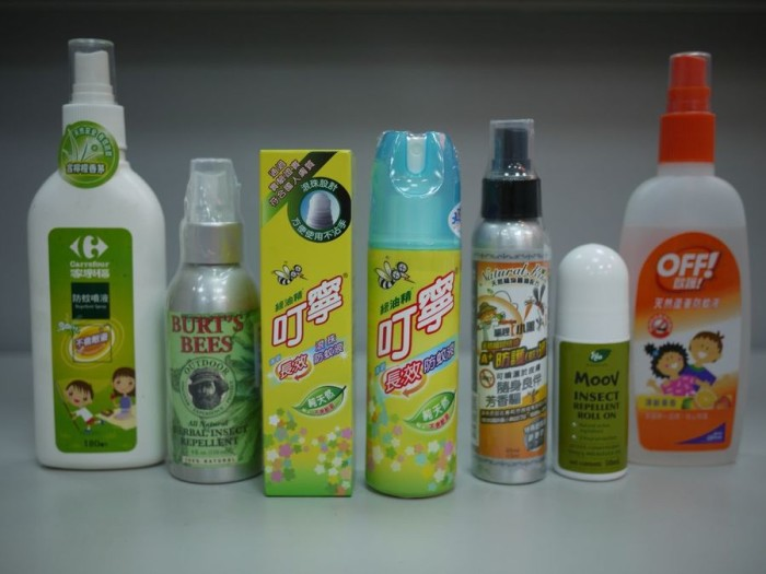 3. Mosquito Repellent: You're going to need lots of this!