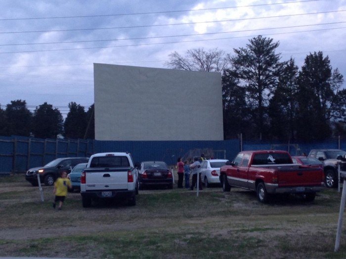 4. Watch a movie at an authentic drive-in theater.