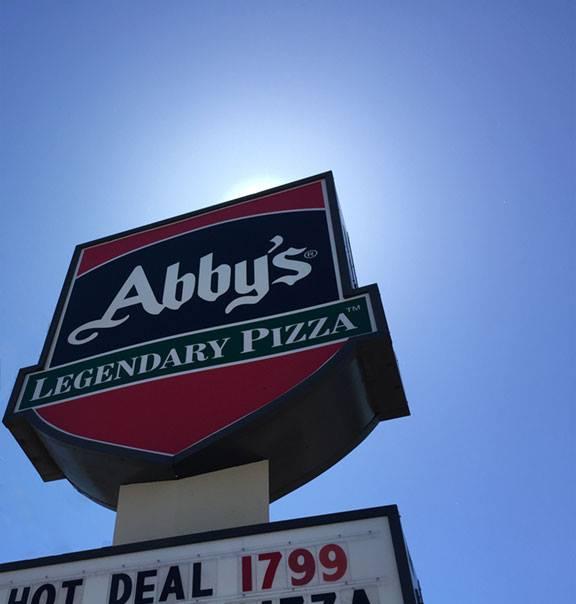 15) Abby's Legendary Pizza, various locations