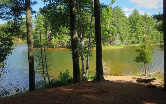 12) Anderson Lake West State Forest Campground & Trail, Gwinn, Mich.