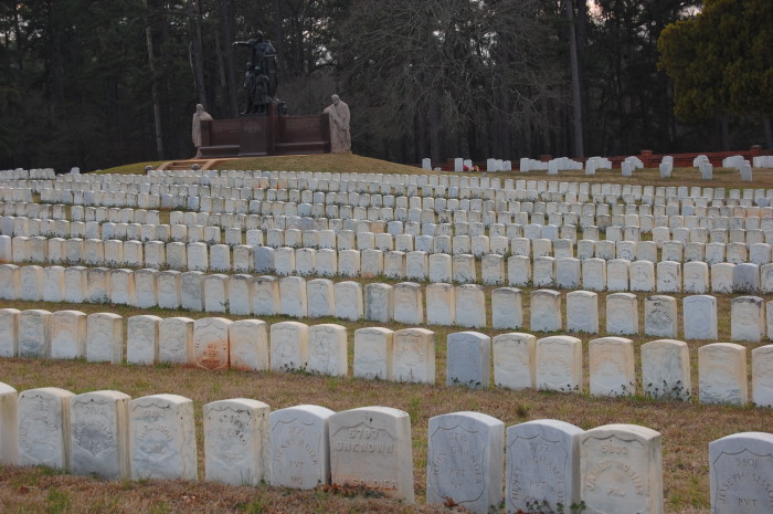 1) Andersonville National Cemetery