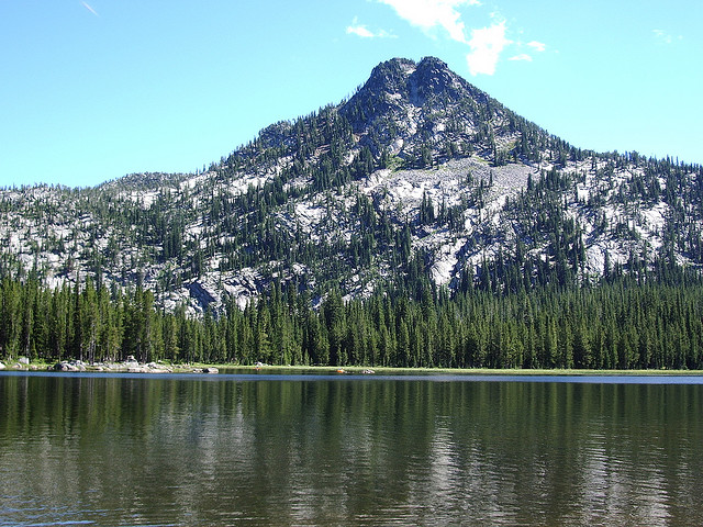 12) Anthony Lakes, near La Grande, and Baker City