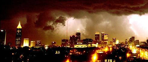 2) 2008 Atlanta tornado outbreak