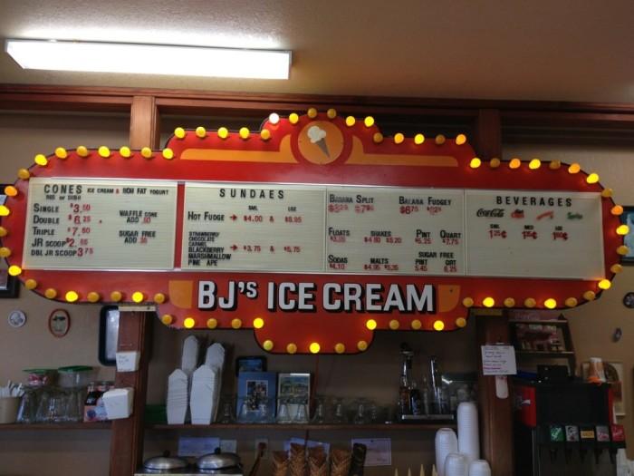 20) BJ's Ice Cream, Florence
