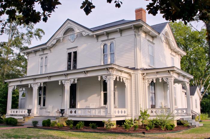 10. I love the architectural charm of the David A. Barnes House in Murfreesboro.