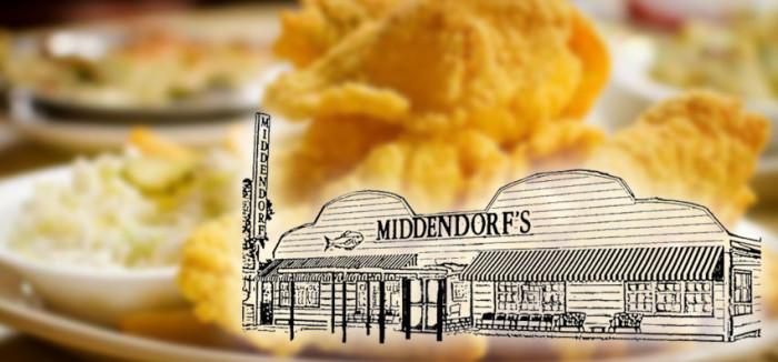 4. Middendorf's, Manchac, LA