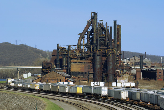 """5. The old Bethlehem Steel factory that was in """"Transformers"""""""