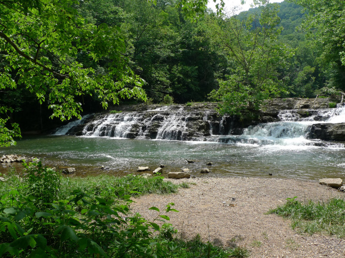 4. Big Falls on Cedar River, Russell County