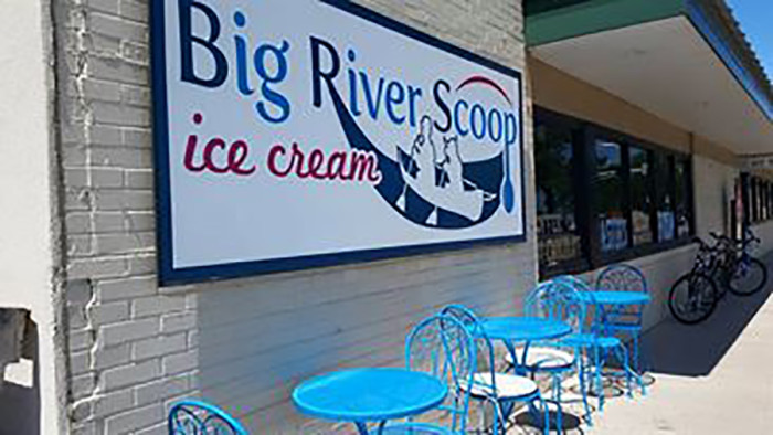13. Big River Scoop in Bemidji has the best hand dipped ice cream.
