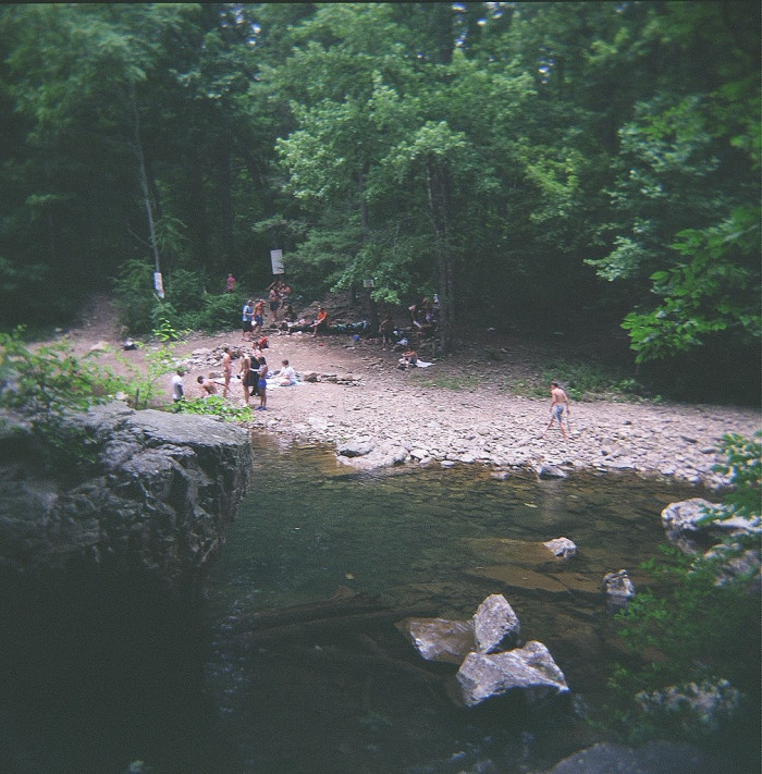 12. Blue Hole on the Dry River, Rawley Springs