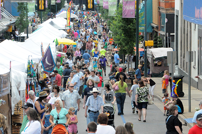 9) Blue Plum Festival - Johnson City