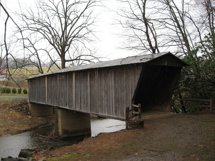 20. Bob White Covered Bridge, Woolwine