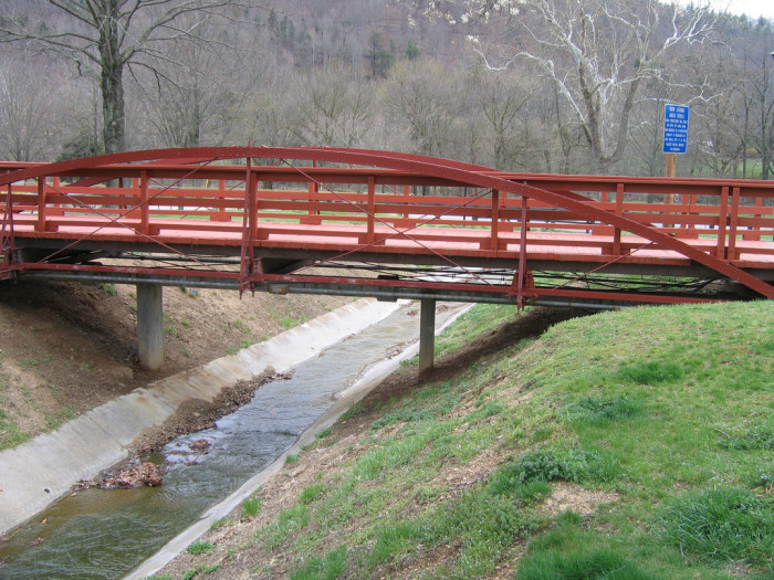 2. The Bowstring Arch Truss Bridge, Bedford County