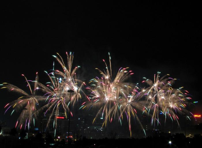 7)  Fourth of July Midnight Parade - Gatlinburg