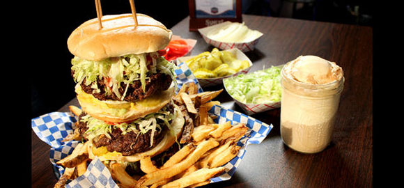 9. Burgers and Blues in Jackson, MS
