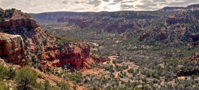 5) Caprock Canyons State Park (Quitaque)