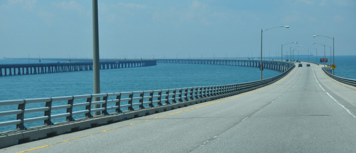 1. Chesapeake Bay Bridge Tunnel, Cape Charles, Virginia Beach