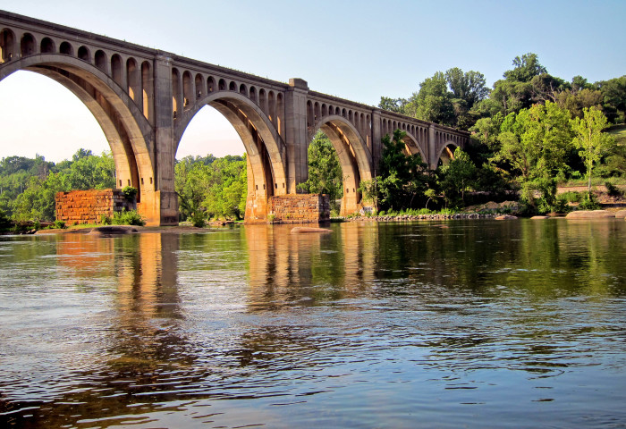 4. CSX A-Line Bridge over the James River, Richmond