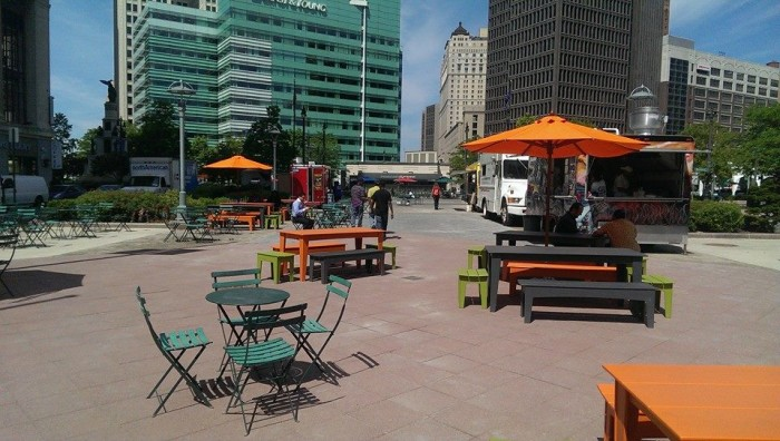 11) Cadillac Square Park, Detroit