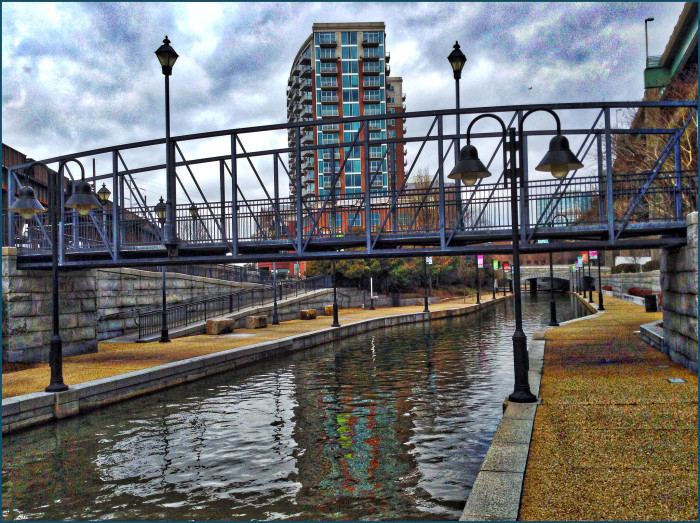 15. Travel the Canal Walk along the James River in Richmond
