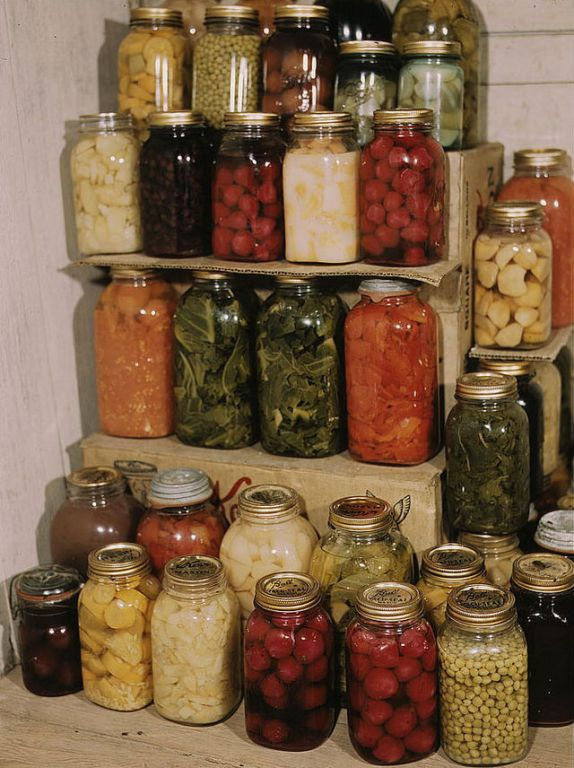 1. Home Canning Replaces Store Bought